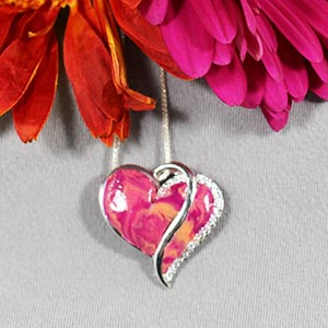 flower petal jewelry - florida