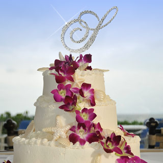 Timeless Toppers - Swarovski Crystal Wedding Cake Toppers